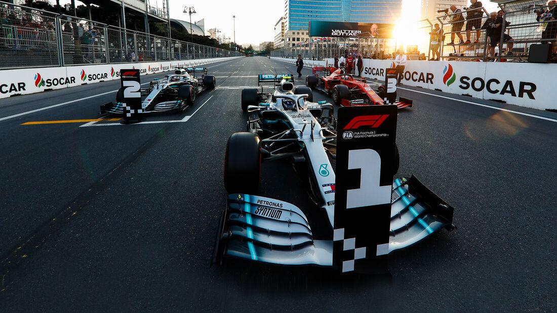 Bottas - GP Aserbaidschan 2019