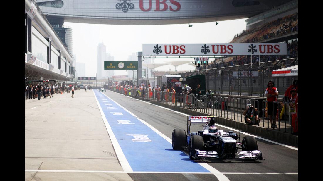 Bottas GP China 2013
