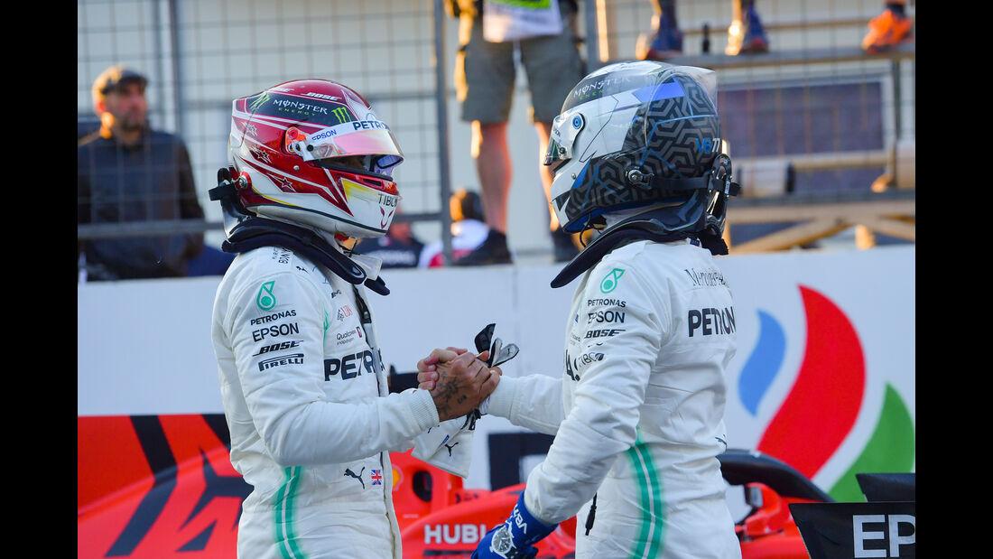 Bottas & Hamilton - Formel 1 - GP Aserbaidschan - 27. April 2019