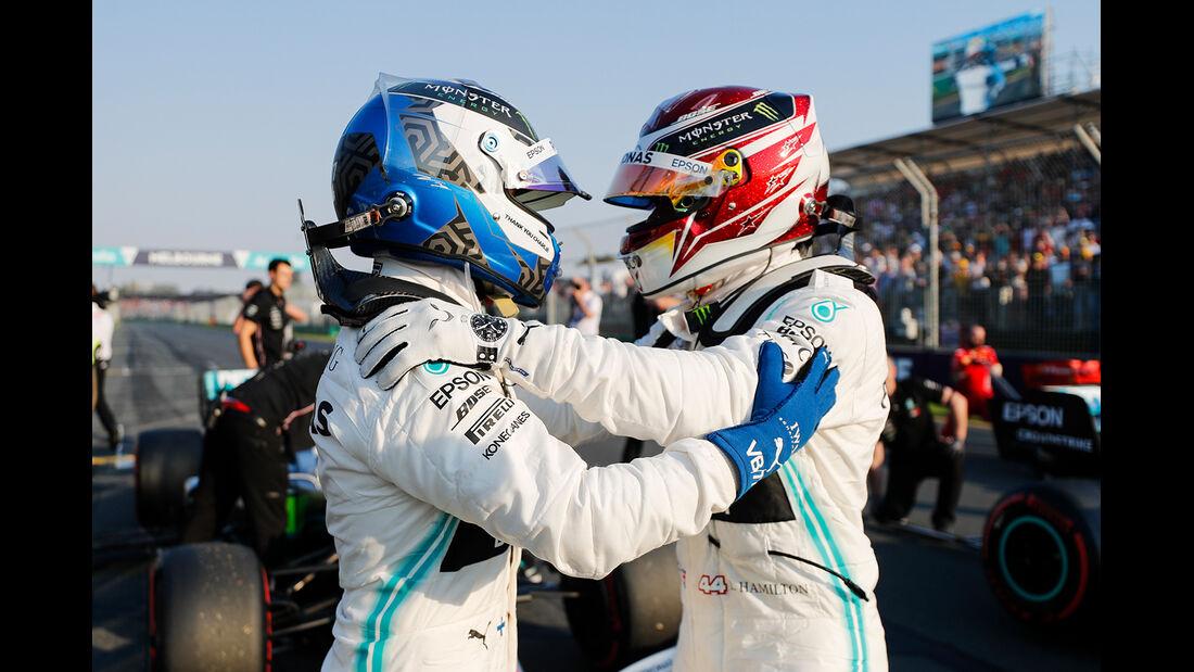 Bottas & Hamilton - Formel 1 - GP Australien 2019