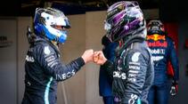 Bottas - Hamilton - Formel 1 - GP Eifel - Nürburgring - Samstag - 10.10.2020