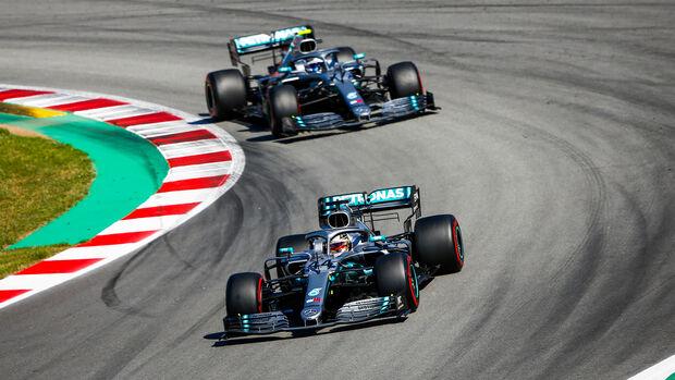 Bottas & Hamilton - Formel 1 - GP Spanien 2019
