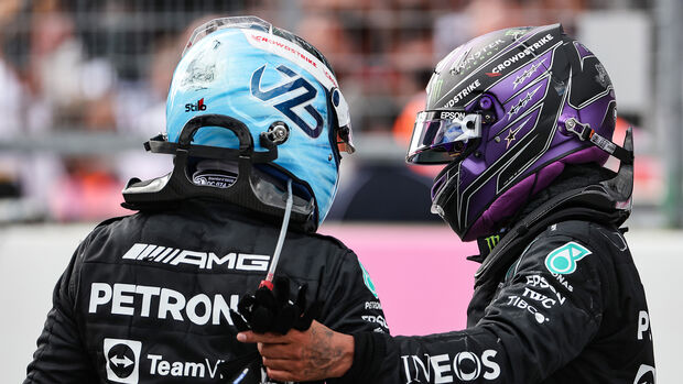 Bottas & Hamilton - Formel 1 - GP Steiermark - Spielberg - 27. Juni 2021