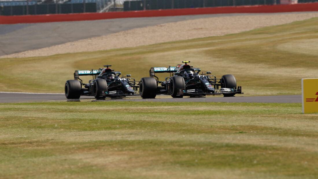 Bottas - Hamilton - GP 70 Jahre F1 - Silverstone