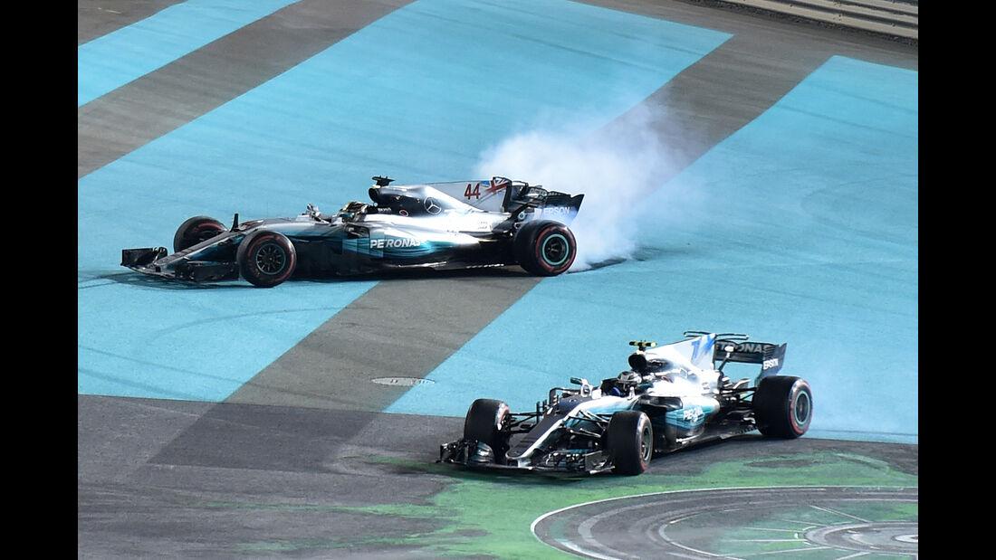 Bottas & Hamilton - GP Abu Dhabi 2017