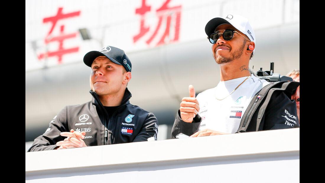 Bottas & Hamilton - GP China 2018