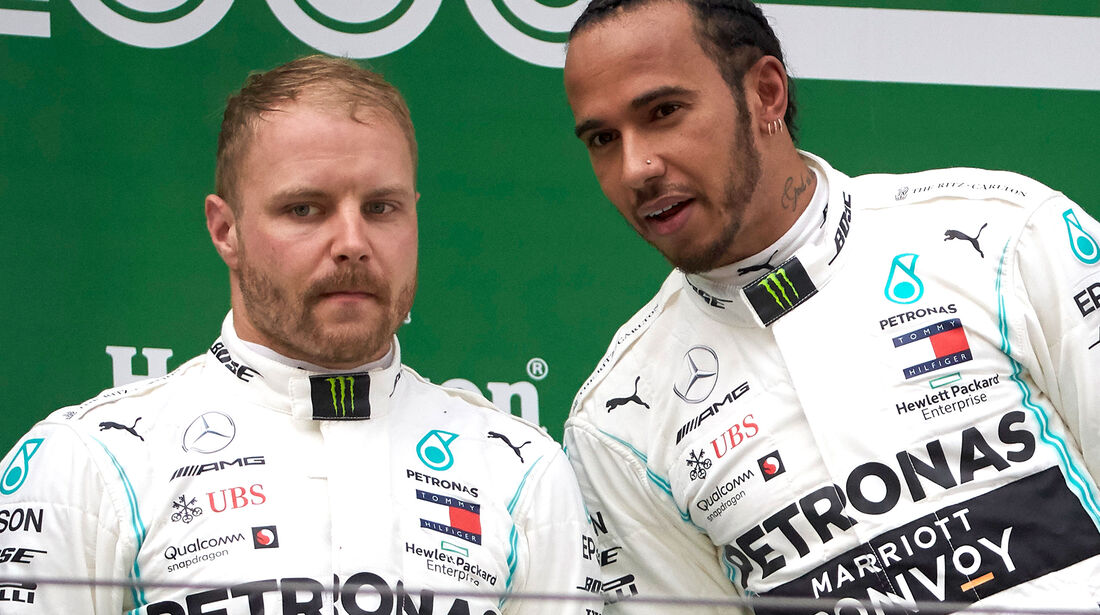 Bottas & Hamilton - GP China 2019