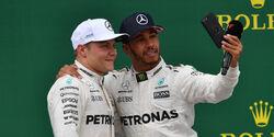 Bottas & Hamilton - GP England 2017