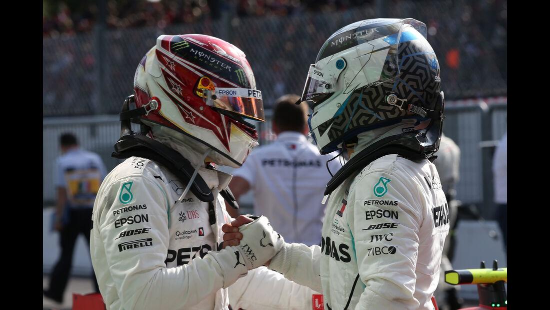 Bottas & Hamilton - GP Italien 2019