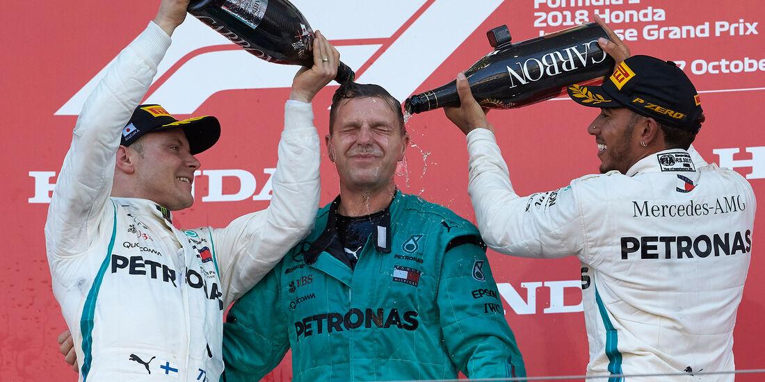 Bottas & Hamilton - GP Japan 2018