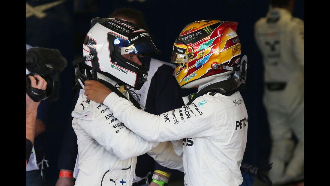 Bottas & Hamilton - GP Russland 2017