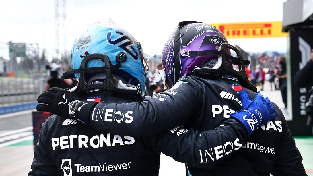 Bottas & Hamilton - GP Türkei 2021