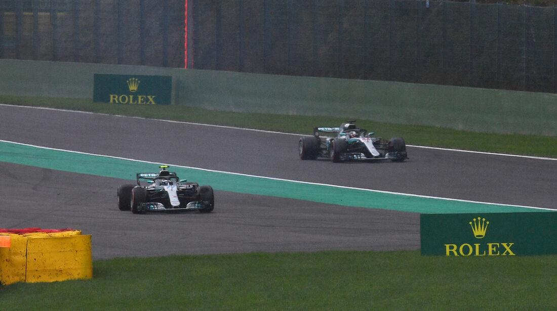 Bottas & Hamilton - Mercedes - Formel 1 - GP Belgien - Spa-Francorchamps - 25. August 2018