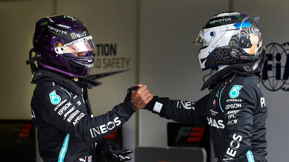 Bottas & Hamilton - Mercedes - GP Ungarn 2020
