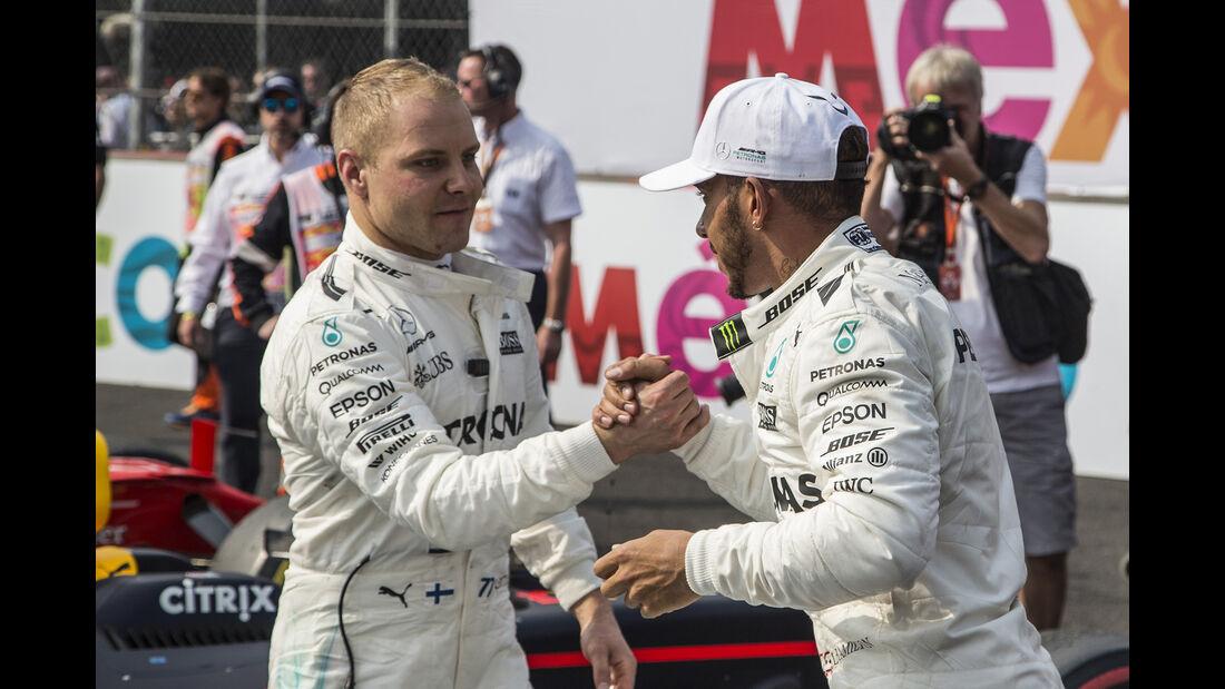 Bottas & Hamilton - Stats - GP Mexiko 2017