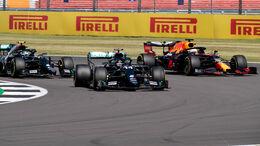 Bottas - Hamilton - Verstappen - GP England 2020 - Silverstone