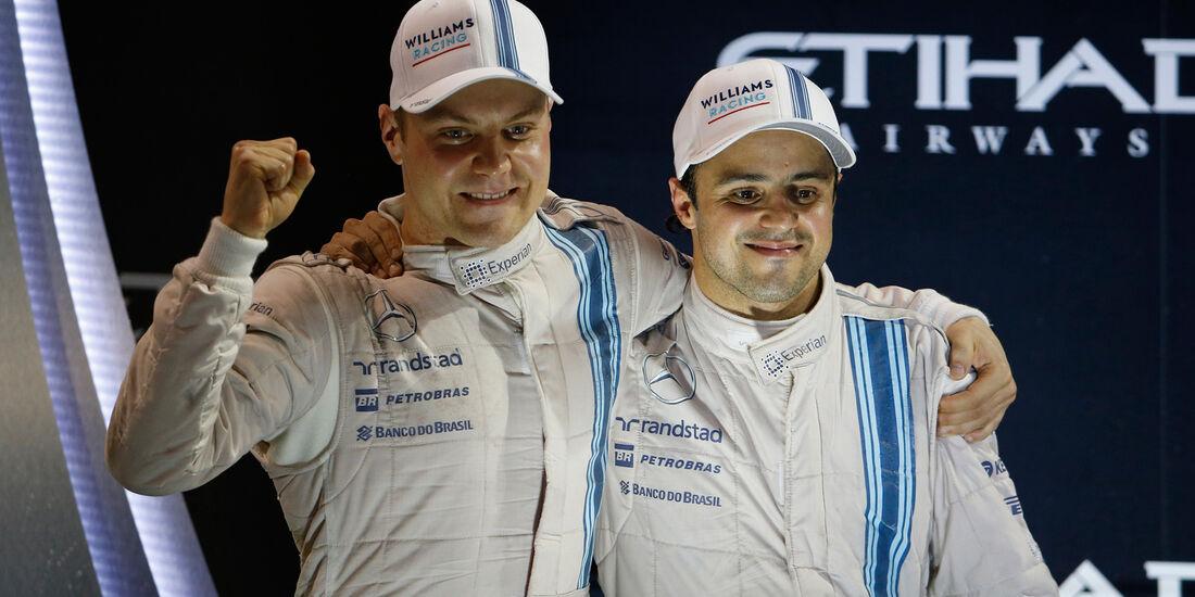 Bottas & Massa - GP Abu Dhabi 2014