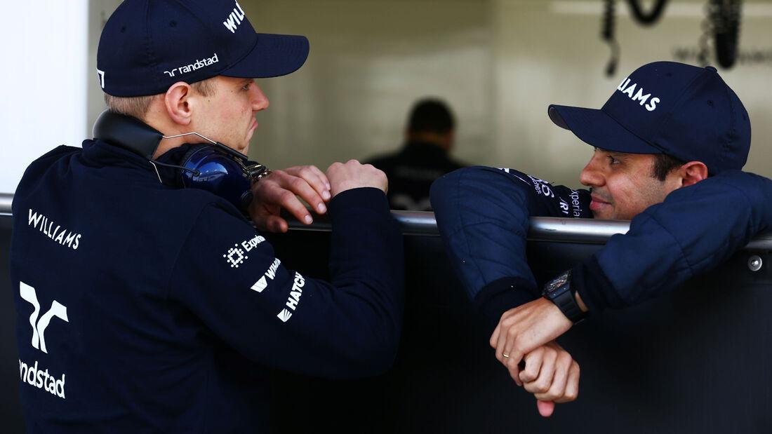 Bottas & Massa - Williams - Bahrain - Formel 1 Test - 2014