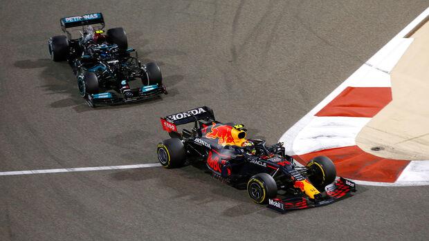 Bottas & Perez - GP Bahrain 2021