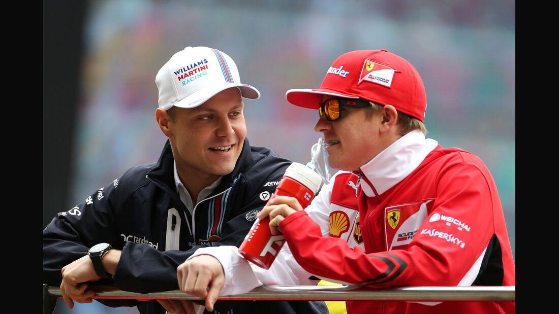 Bottas & Räikkönen - F1 2014