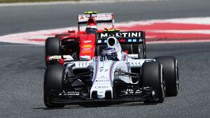 Bottas & Räikkönen - GP Spanien 2015