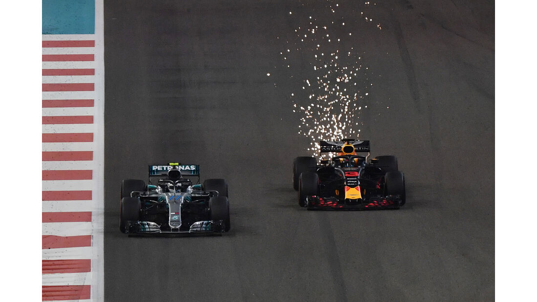 Bottas & Ricciardo - GP Abu Dhabi 2018