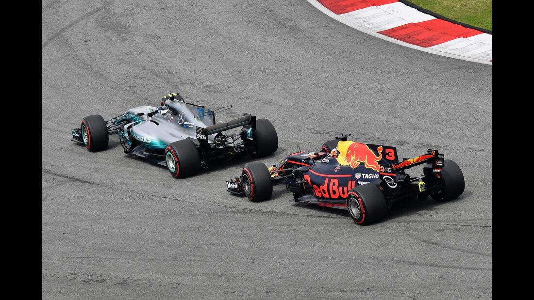 Bottas & Ricciardo - GP Malaysia 2017