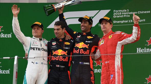 Bottas, Ricciardo & Räikkönen - GP China 2018