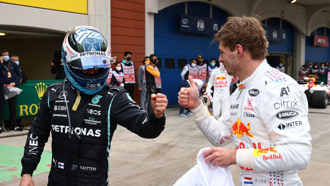Bottas & Verstappen - Formel 1 - GP Türkei 2021