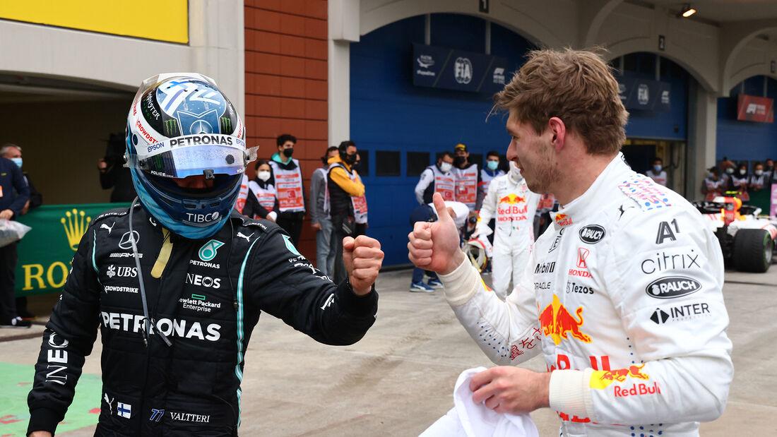 Bottas & Verstappen - GP Türkei 2021