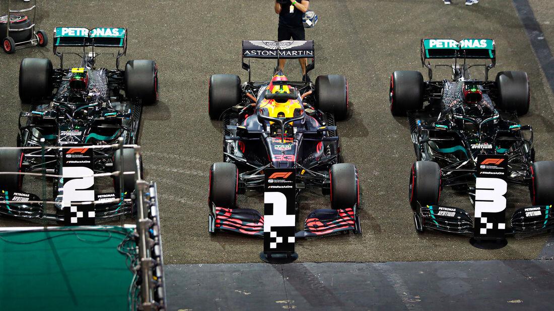 Bottas - Verstappen - Hamilton - Formel 1 - GP Abu Dhabi - Samstag - 12.12.2020