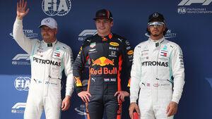 Bottas - Verstappen - Hamilton - GP Ungarn 2019 - Budapest - Qualifying