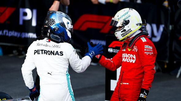 Bottas & Vettel - GP Aserbaidschan 2019