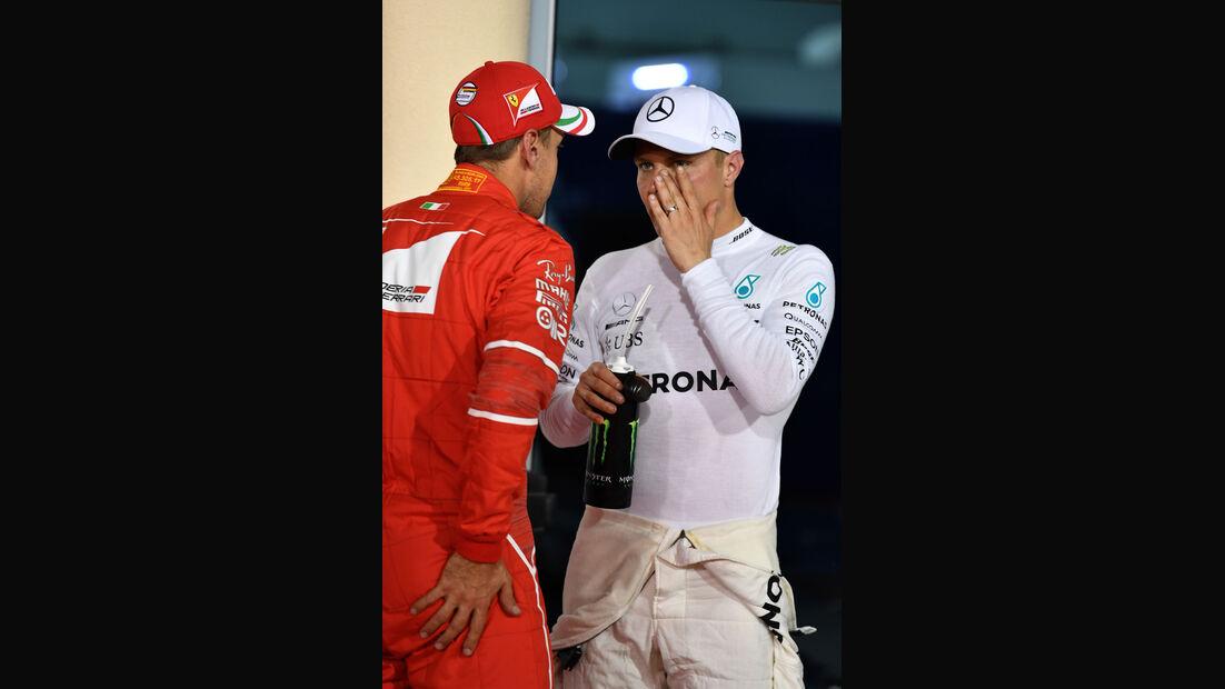Bottas - Vettel - GP Bahrain 2017 - Qualifying