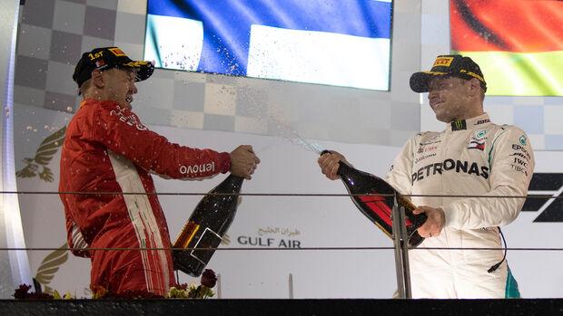Bottas & Vettel - GP Bahrain 2018