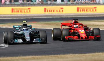 Bottas & Vettel - GP England 2018
