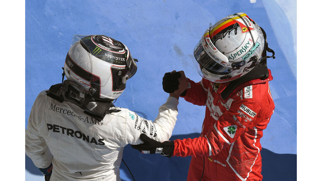 Bottas & Vettel - GP Ungarn 2017