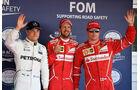 Bottas, Vettel & Räikkönen - Ferrari - Formel 1 - GP Russland - Sotschi - 29. April 2017
