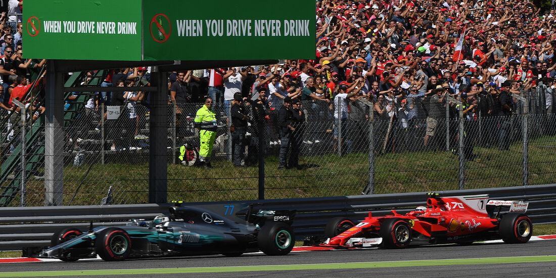 Bottas vs. Räikkönen - GP Italien 2017