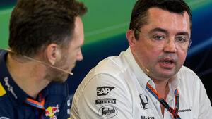 Boullier & Horner - GP USA - 2015