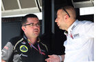 Boullier & Lopez - Lotus - Formel 1 - GP Brasilien - Sao Paulo - 23. November 2012