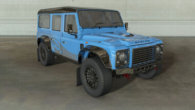 Bowler Motors Project CSP 574 Land Rover Defender Nachbau
