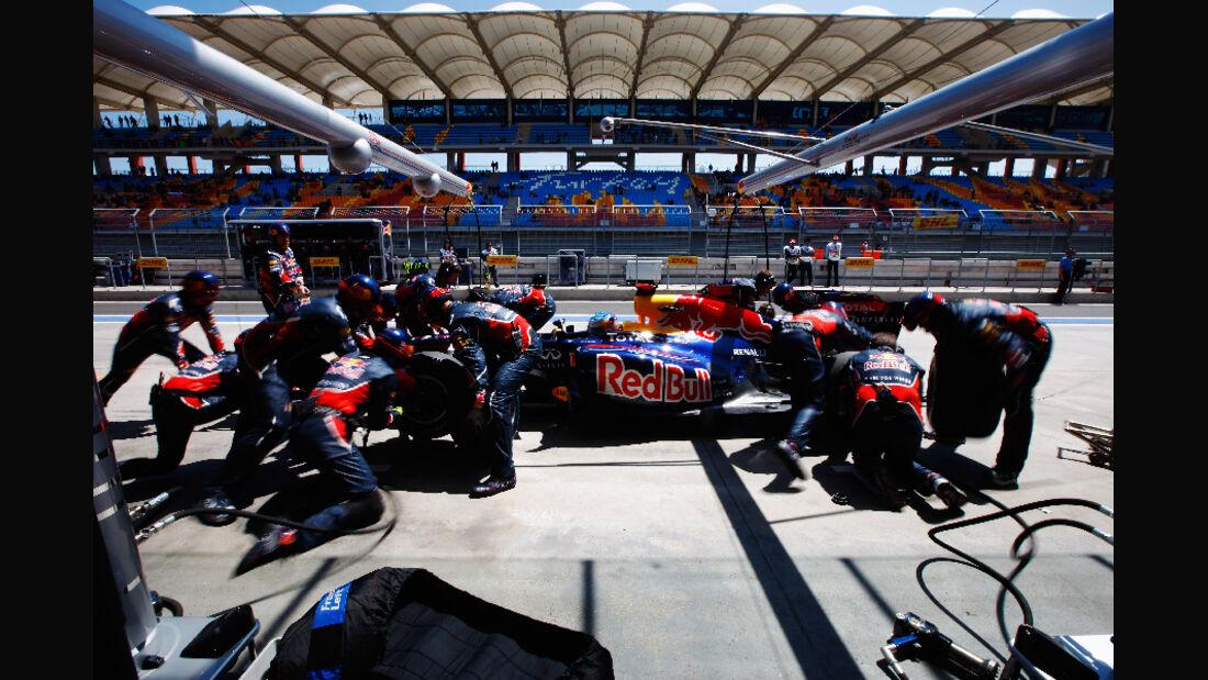 Box Red Bull GP Türkei 2011