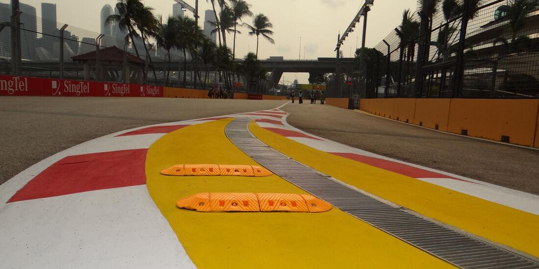 Boxeneingang - Formel 1 - GP Singapur - 20. September 2012