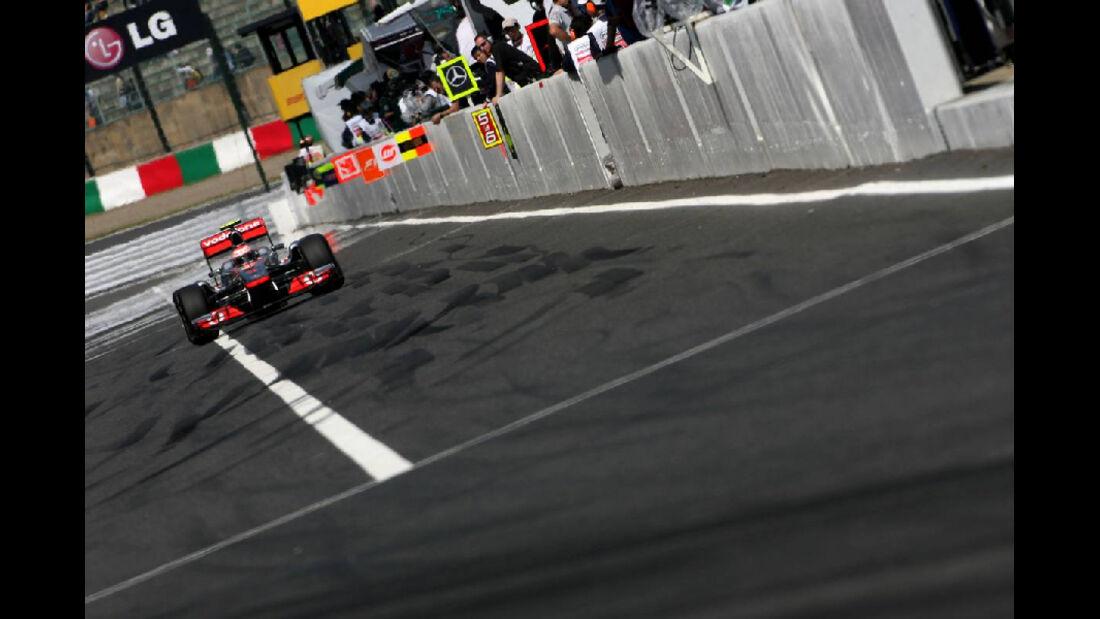 Boxengasse  - Formel 1 - GP Japan - 07. Oktober 2011
