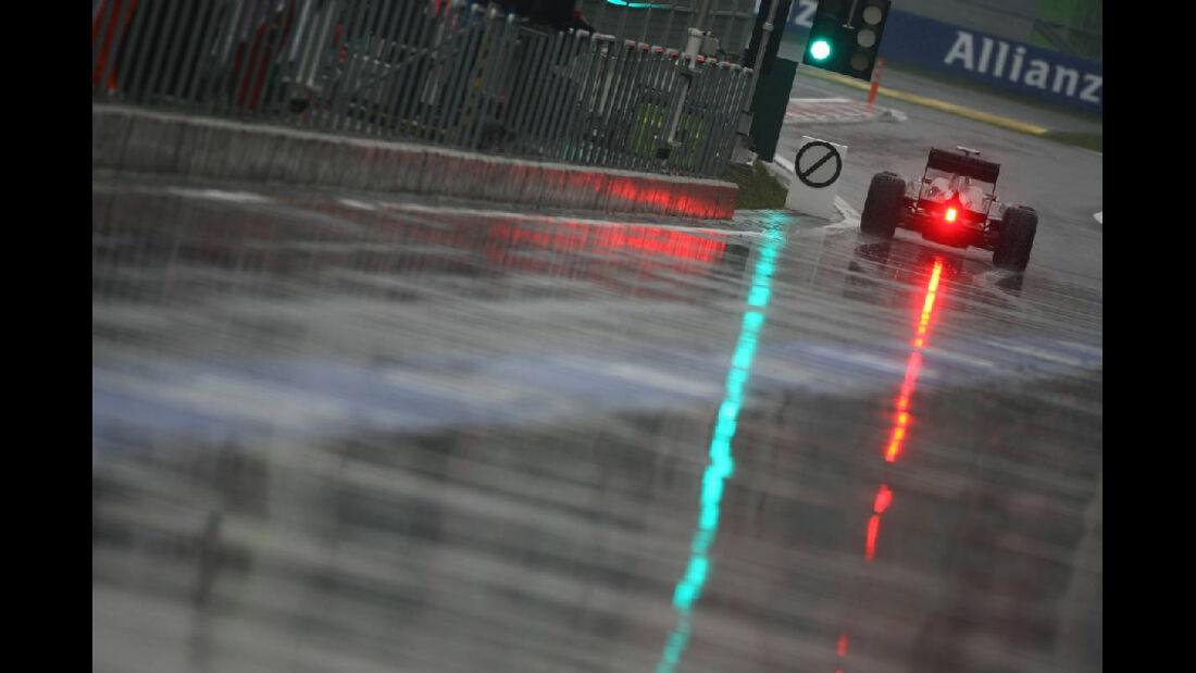 Boxengasse - Formel 1 - GP Korea - 14. Oktober 2011