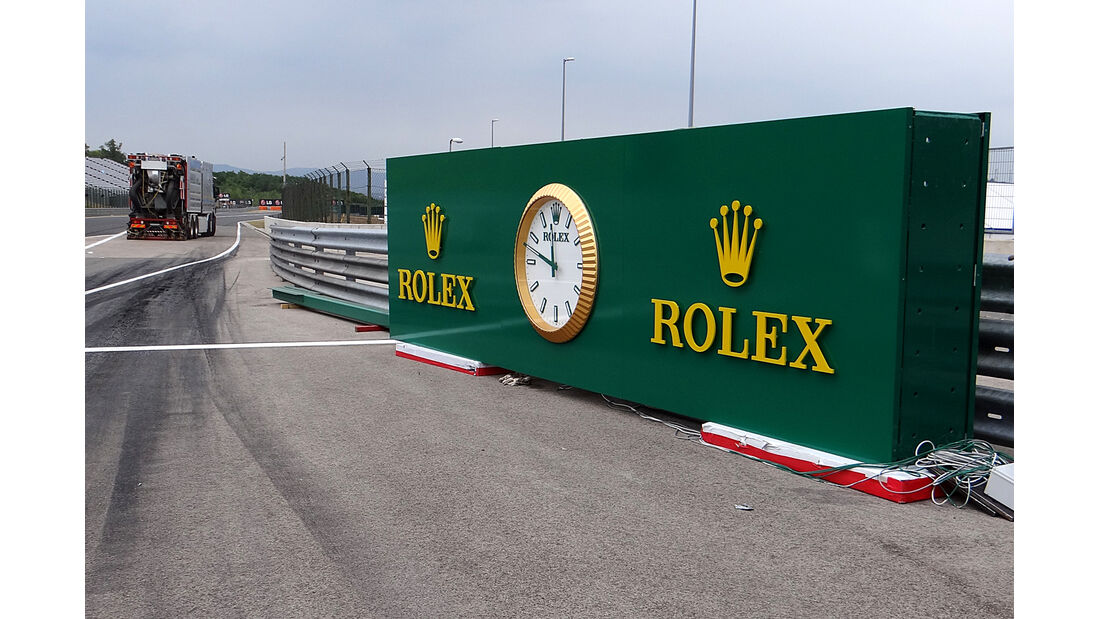 Boxengasse - Formel 1 - GP Ungarn - 25. Juli 2013