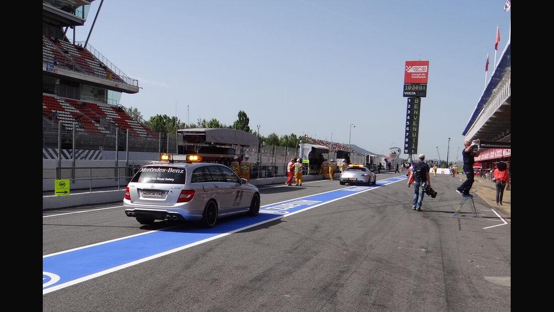 Boxengasse - GP Spanien - 12. Mai 2012