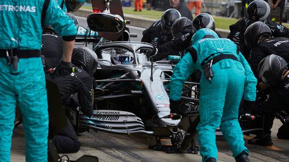 Boxenstopp - Valtteri Bottas - GP England 2019