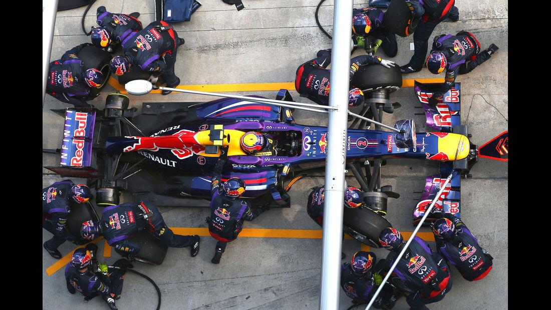 Boxenstopp Webber Malaysia 2013